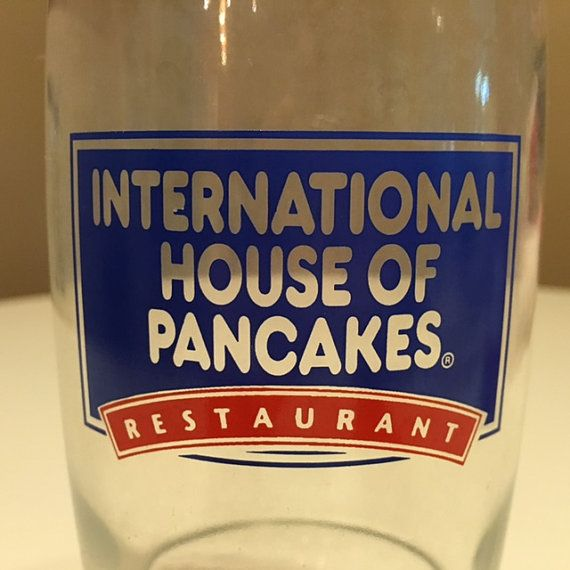 IHOP International House of Pancakes Glass by TheTeaberryCottage