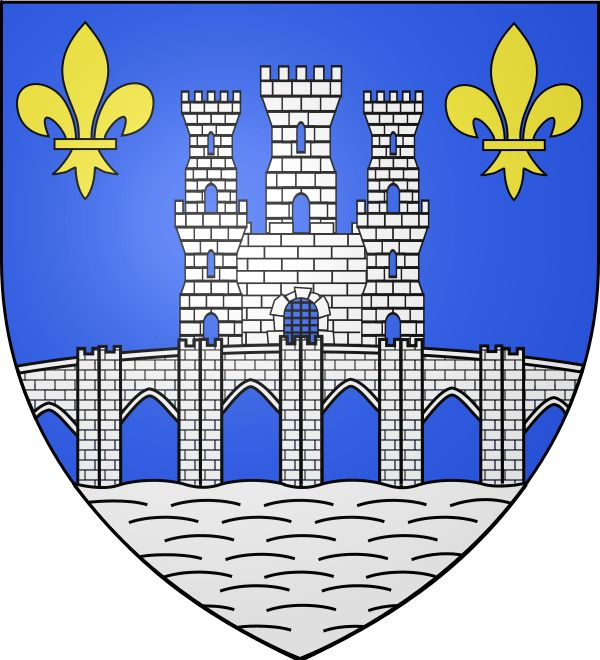 Pontoise, Prefecture of Val-d'Oise (France), Region: Île-de-France #Pontoise #Vald'Oise #France (L15973)