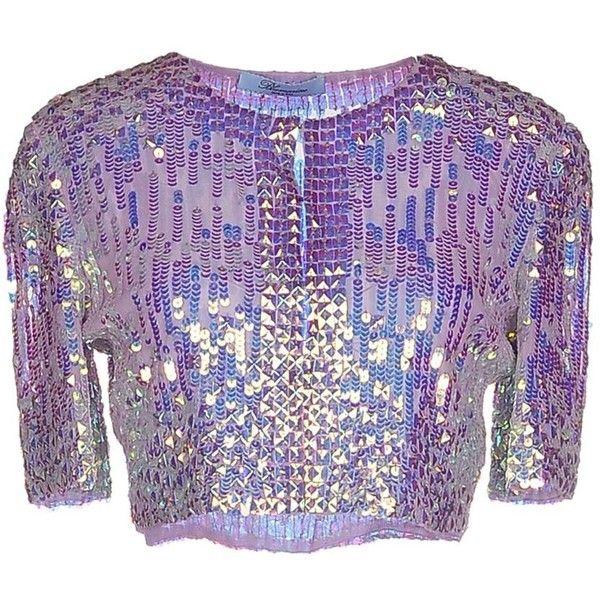 Blumarine Blazer ($620) ❤ liked on Polyvore featuring outerwear, jackets, blazers, lilac, sequin blazer, purple sequin jacket, purple blazer, blazer jacket and purple jacket