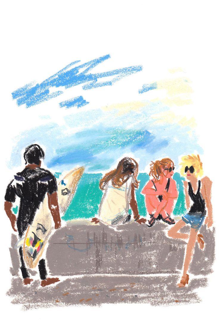 TRAVEL - T Magazine Blog - NYTimes. llustration by Damien Florébert Cuypers