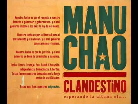 Manu Chao - {Clandestino}