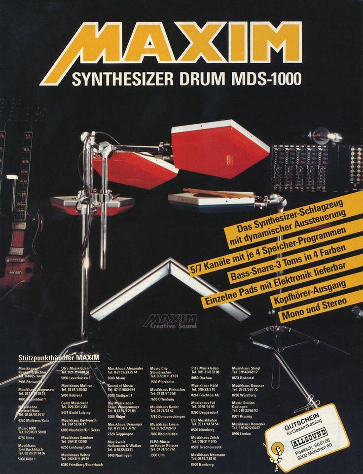 MAXIM MDS-1000 Anzeige 1984