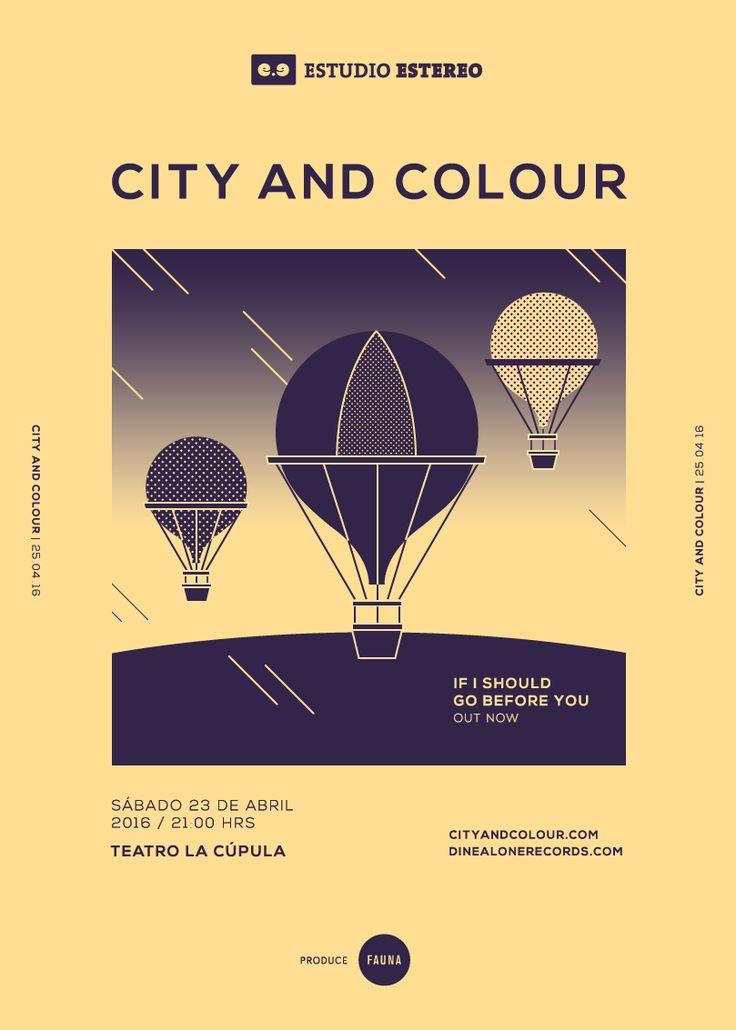 Estudio Estéreo / Art Direction & Gig Posters (2016) on Behance