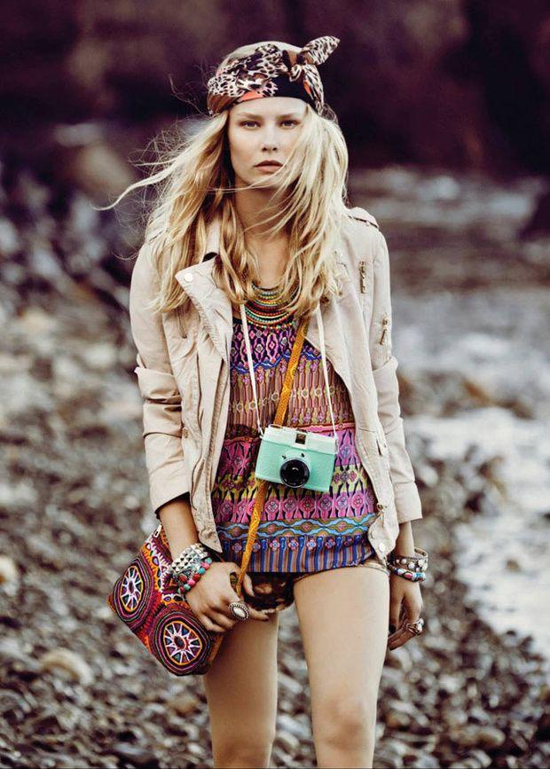 24 best images about moda primavera verano2016 on - Moda boho chic ...