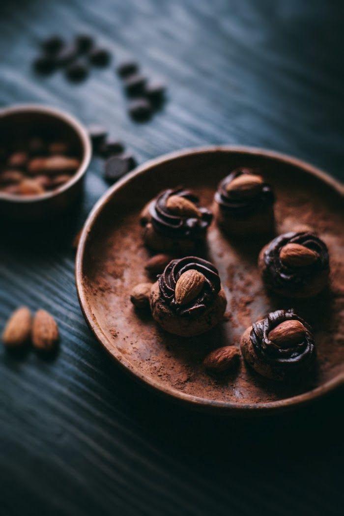 Gebratenes Almond & Black Pepper Trüffel