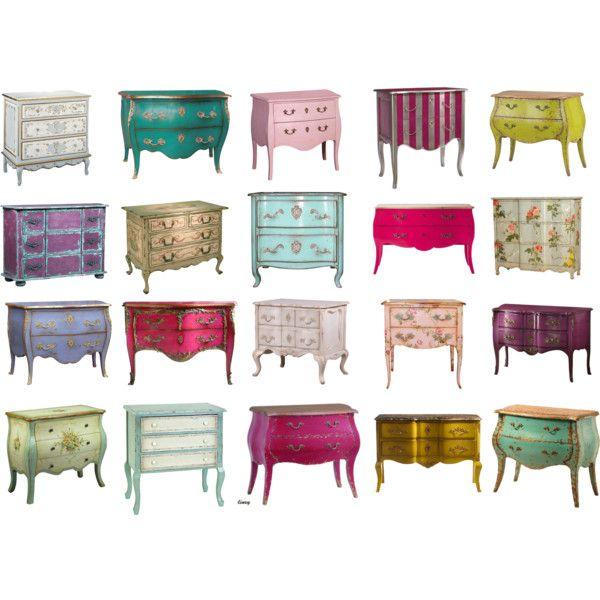 """""""vintage furniture"""" by rekligri on Polyvore"""