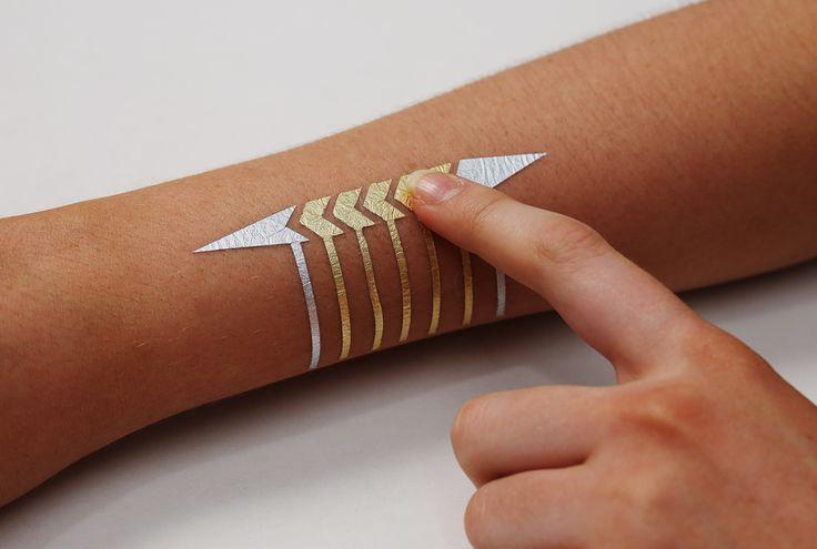 Met je tatoeage je smartphone bedienen? Het kan, lees het hier//bit.ly/2aX6CyF