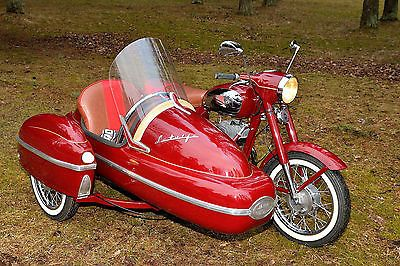 19680000 Other Makes Jawa 350/360 + Velorex sidecar