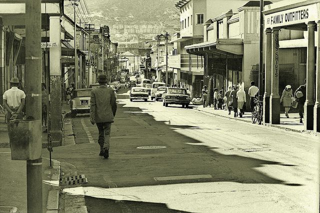 Hanover street, District Six - Cape Town - 1964. One of the iconic streets in Cape Town....especially well-known due to an old popular song in South Africa.