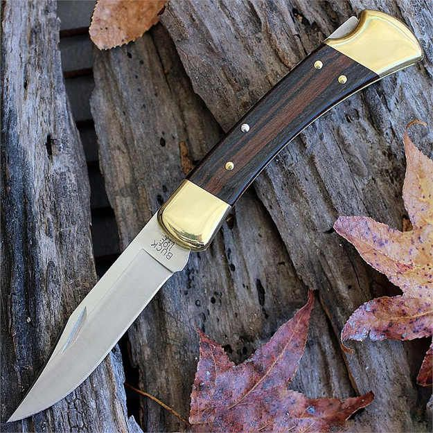 110 Folding Hunter Knife | Hunters Want These Buck Hunting Knives With Them At All Times