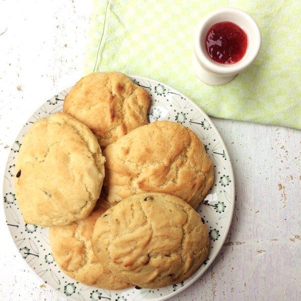 New recipe up on the blog! Vegan and glutenfree Scones <3