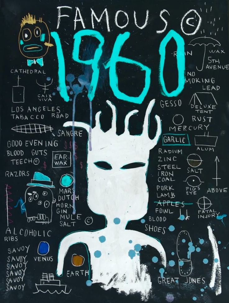 JEAN MICHEL BASQUIAT at night Basquiat .More Pins Like This At FOSTERGINGER @ Pinterest