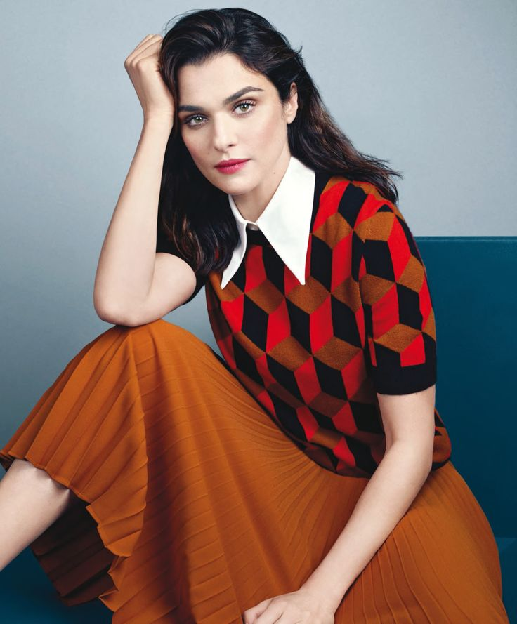 Rachel Weisz stars as a cover girl for the December 2015 issue of MORE magazine, photographed by David Slijper and styled by Tina Chai.