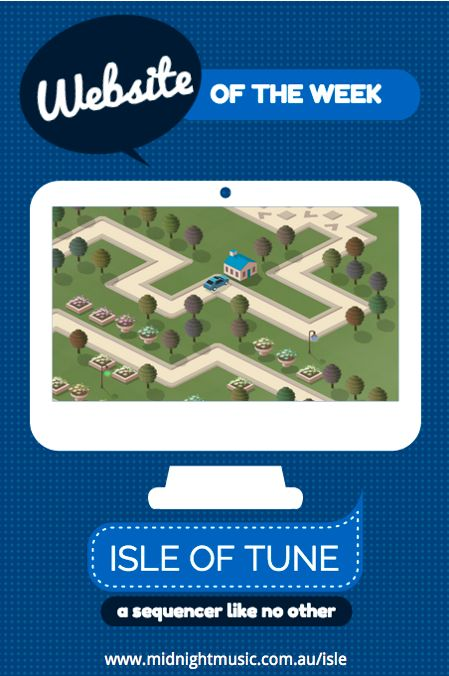 Midnight Music's website of the week: Isle of tune.  An easy-to-use and very unique music sequencer!  http://www.midnightmusic.com.au/2014/03/website-of-the-week-isle-of-tune/