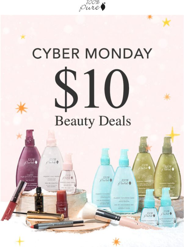 Don't miss out this awesome chance to get natural, organic, nontoxic, healthy skincare and makeup items now! Get 20 for ONLY $10! :) natural organic beauty, cyber monday deals, cyber monday, black friday, black friday 2017, green beauty blogger, healthiest brands for skin, healthy living, natural beauty blogger, natural beauty brands, natural beauty stores, natural ingredients for skin, nontoxic products,  best herbs for skincare, best natural anti-aging products,