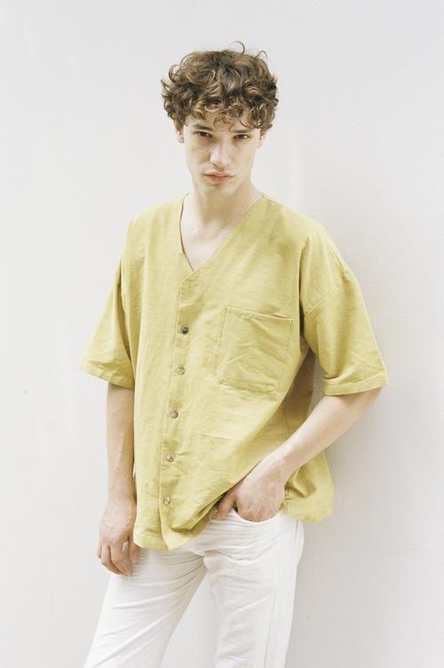 Seeker x Retriever Sustainable Handmade Fashion Tops Yukio Top: Mango
