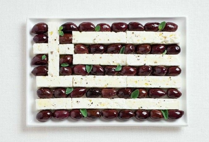 Visit Greece olives & feta