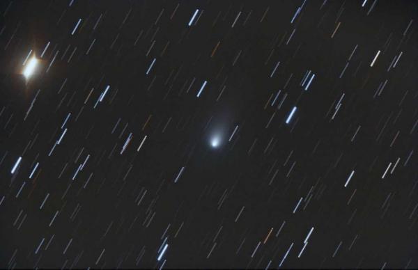 Detectan un cometa en medio de su desintegración
