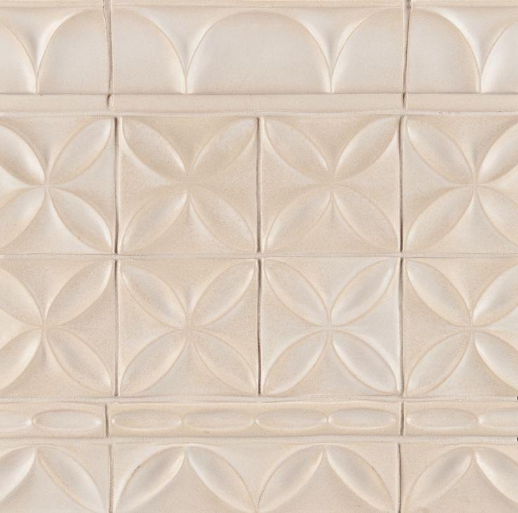 Ann Sacks Circa 4 Quot X 4 Quot Quatrefoil Ceramic Decorative Tile