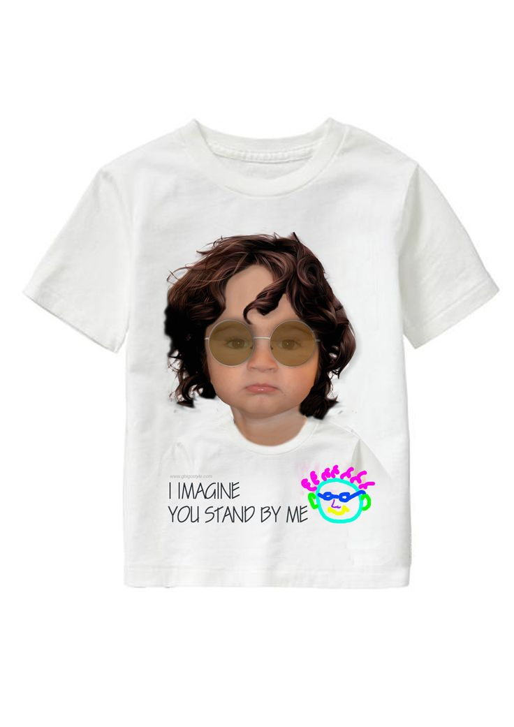 I Can't Imagine personalized T-shirt www.ghigostyle.com