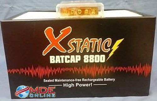 Xstatic Model X8800 - 100 Amp Hour Car Audio Battery. Free Ship Cont'l USA! #XSTATIC