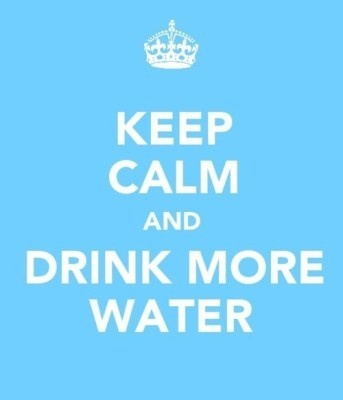 Keep Calm and Drink More #Water #health #fitness