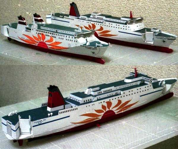 960 best paper models images on pinterest paper crafts papercraft mol sunflower mito cruise free ship paper model download http model boat planscardboard malvernweather Images