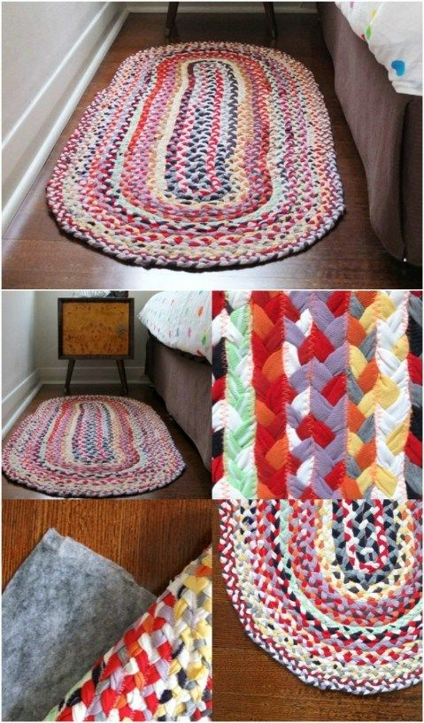 15 Awesome Easy DIY rugs for your home in 2017