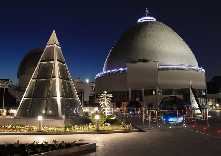 The Moscow Planetarium is the largest in Europe