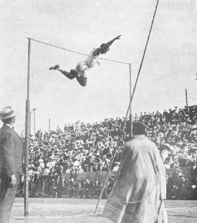 The 1904 Olympic Games were held in St. Louis during the Fair. They were the third Olympics of the modern era, and the first Olympics held in the United States. Track and field events were held at Washington University's gymnasium and track. The track and concrete grandstand (which still stands) were later named Francis Field after the Fair's President, David R. Francis.