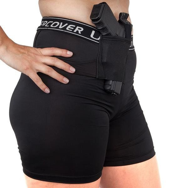 """WOMEN'S """"FRONT CARRY"""" CONCEALED CARRY SHORTS"""
