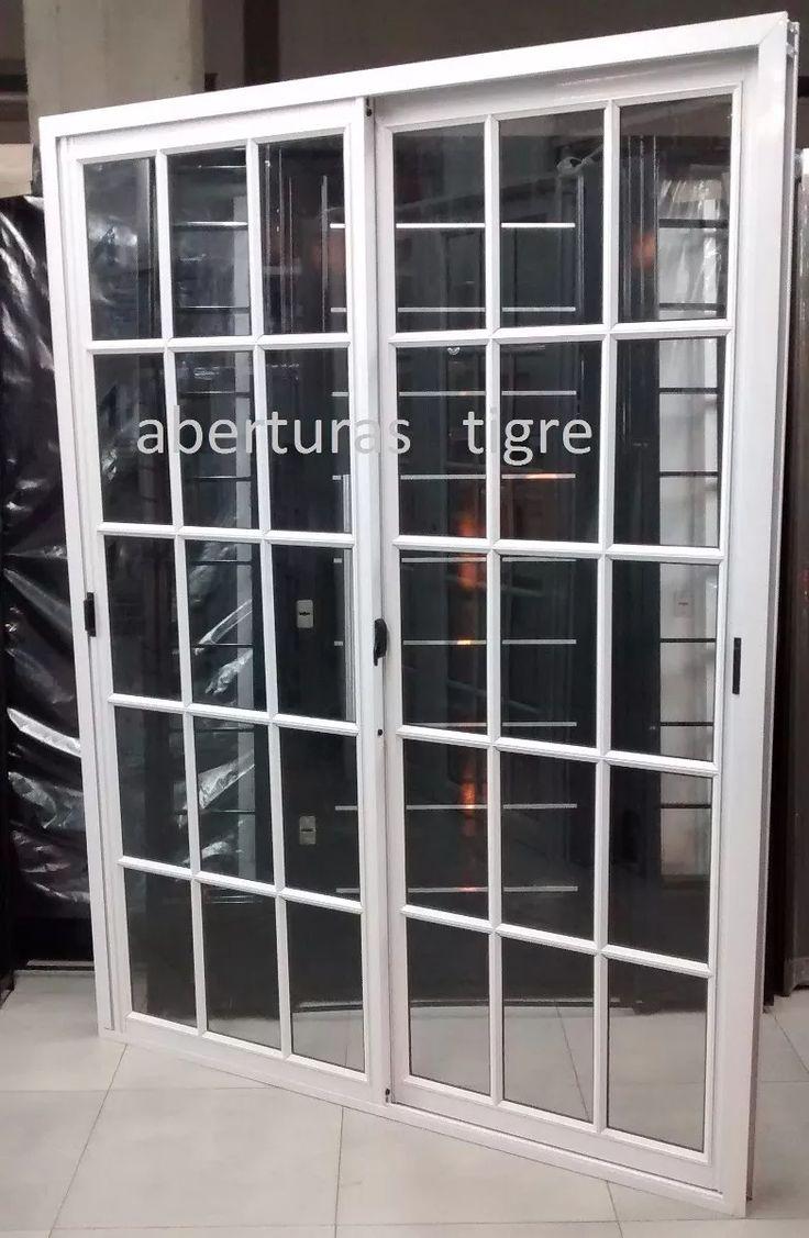 Las 25 mejores ideas sobre ventanas de aluminio blanco en for Puertas de aluminio blanco