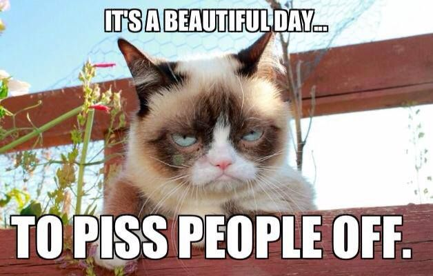 warming up for tonight meme valentines day - Grumpy always grumpy It s indeed a beautiful day to