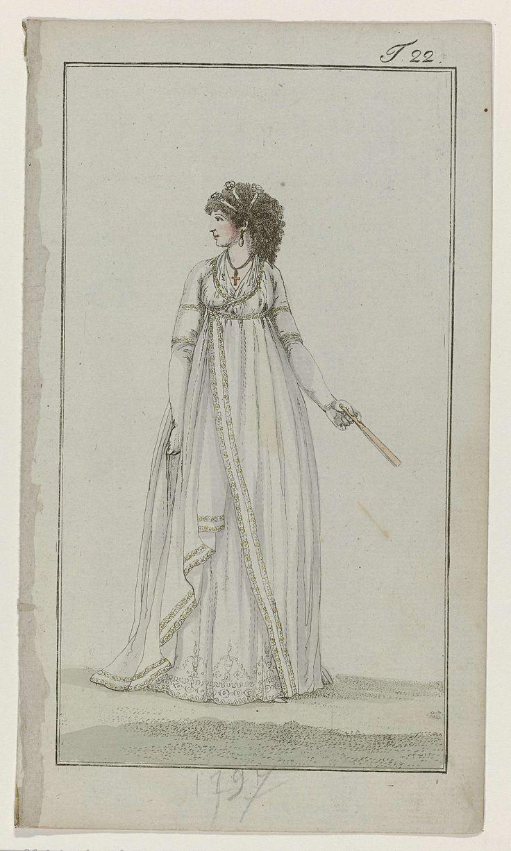 Journal des Luxus und der Moden, 1797, T 22, Georg Melchior Kraus, 1797