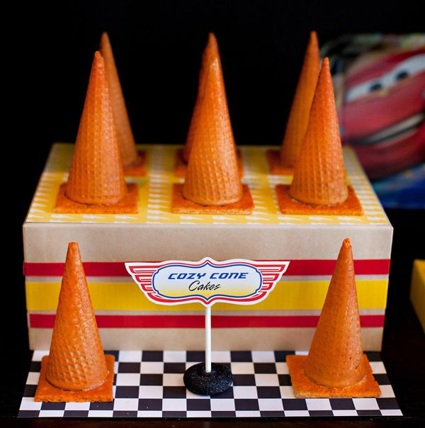 10 {Simple & Fun!} Disney Cars Party Food Ideas