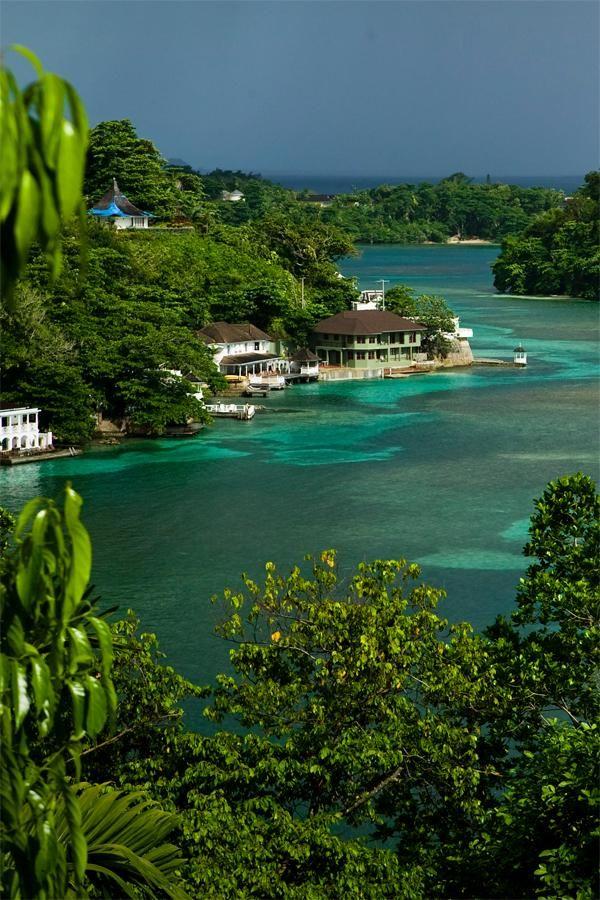 Blue lagoon.... Jamaica