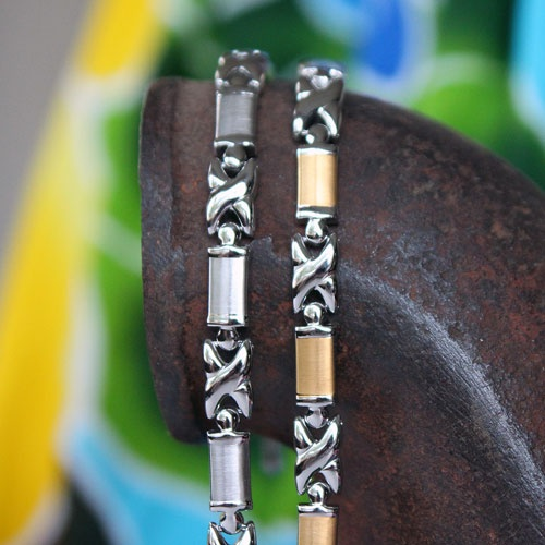 Honihoni Bracelets or Anklets: negative ions, far infrared, germanium, magnets, energy stone