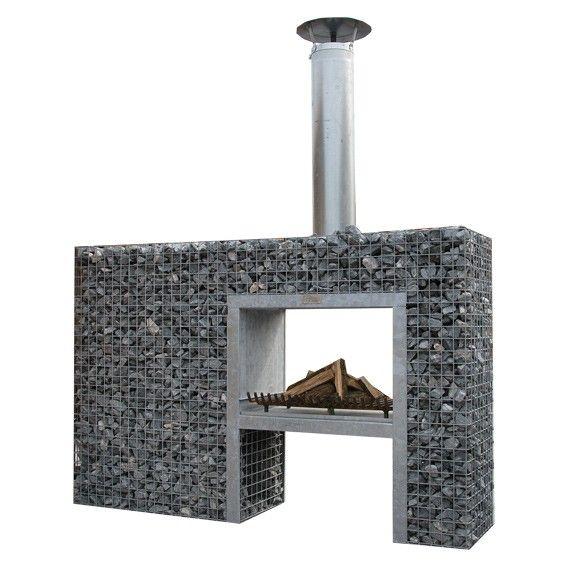 die besten 25 gabionen grill ideen auf pinterest. Black Bedroom Furniture Sets. Home Design Ideas
