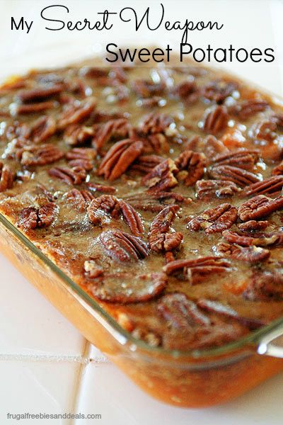 Sweet potato casserole, forget the marshmallows. Healthy and conventional versions.