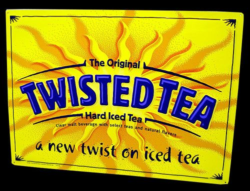 Twisted tea - the ABSOLUTE best summer drink in the world.... WARNING this DOES actually have alcohol in it... even tho it doesn't taste like it hahahaha