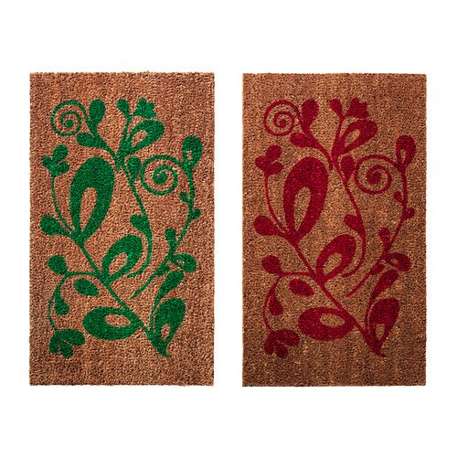 IKEA - VINTER 2014, Door mat, Easy to keep clean - just vacuum or shake the rug.Latex backing keeps the mat firmly in place.  $7.99 Great Price!