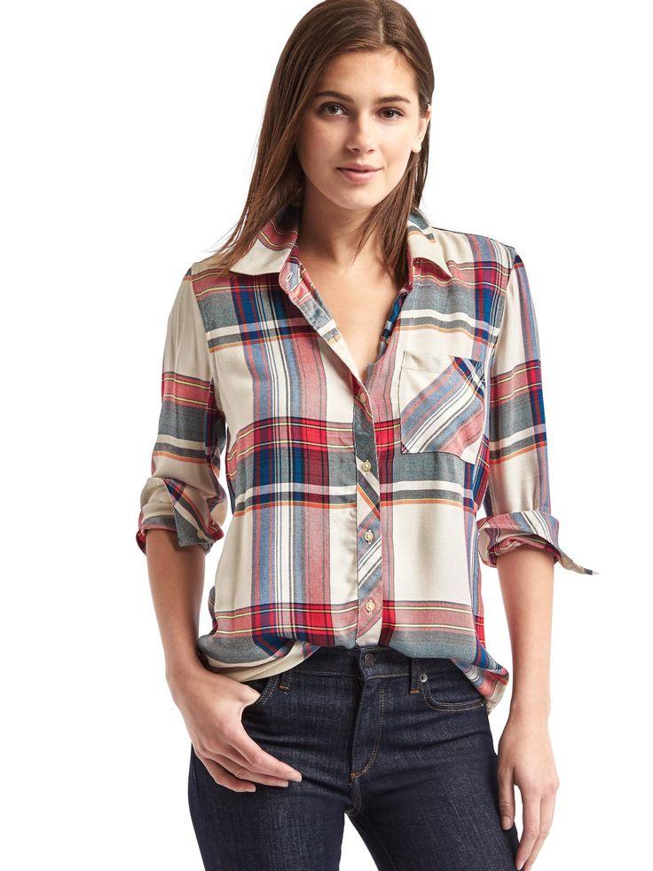 1000 ideas about plaid shirt women on pinterest summer for Super soft flannel shirts