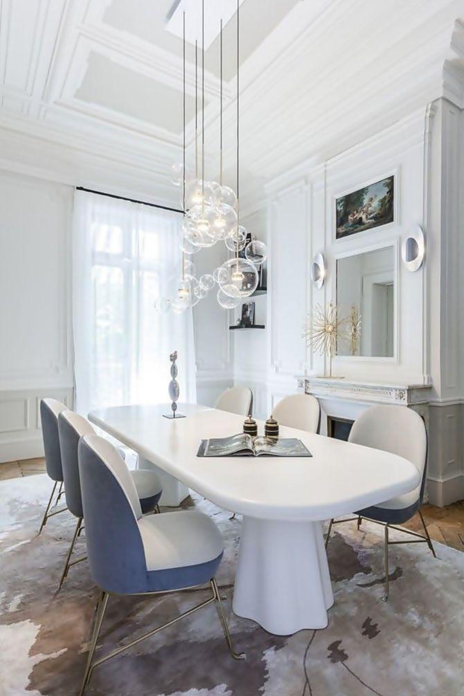 Apartment  Saint Germain des Prés, Paris, by Gérard Faivre