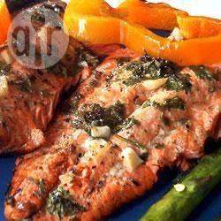 Salmón salvaje marinado @ allrecipes.com.mx