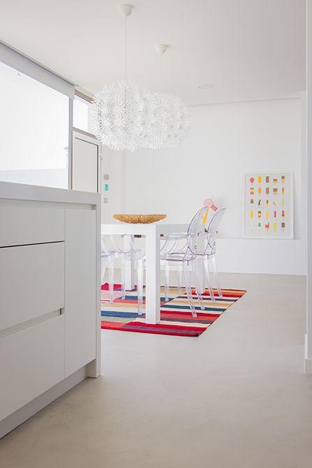 Chiralt Arquitectos I Mobiliario de cocina en vivienda moderna.