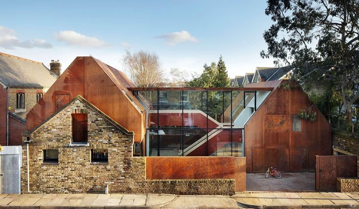 An award-winning home converted from seven garages in south-west London's Kew…