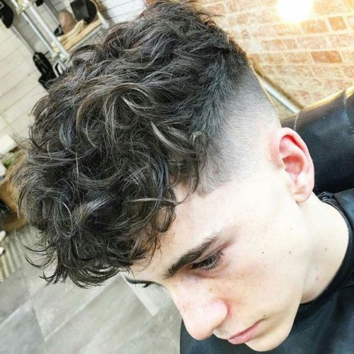 Fringe with High Fade and Shape Up