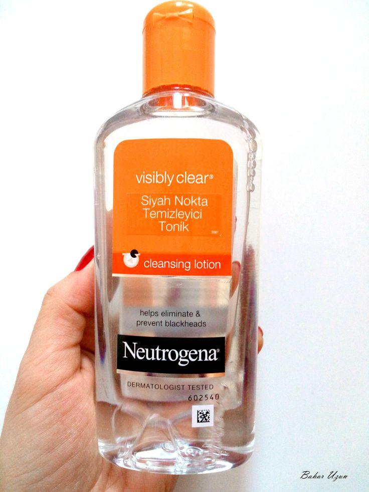 Neutrogena Visibly Clear Siyah Nokta Temizleyici Tonik