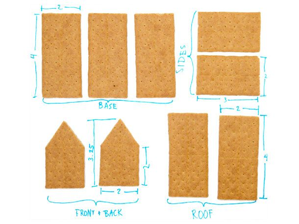 Slide Show | Gingerbread House Hack: How to Make One with Graham Crackers | Serious Eats