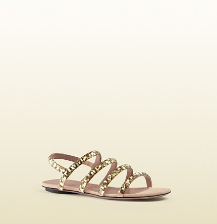 Gucci - mallory crystal embellished suede sandals 370465J17907880